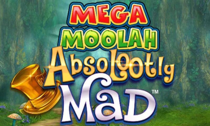 Absolooty Mad: Mega Moolah カジノスロットレビュー