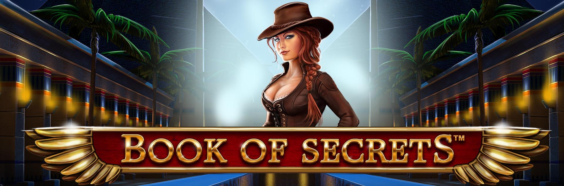 Book of Secretsレビューカジノオンラインスロットゲーム