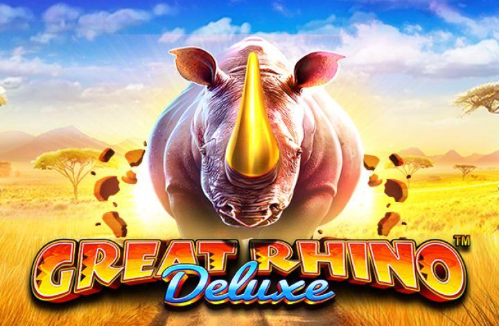 Great Rhino Deluxeカジノスロットゲームレビュー