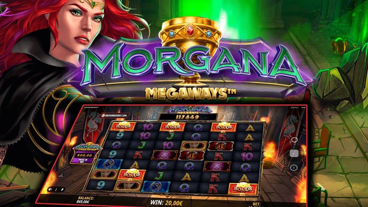 Morgana Megawayカジノスロットレビュー