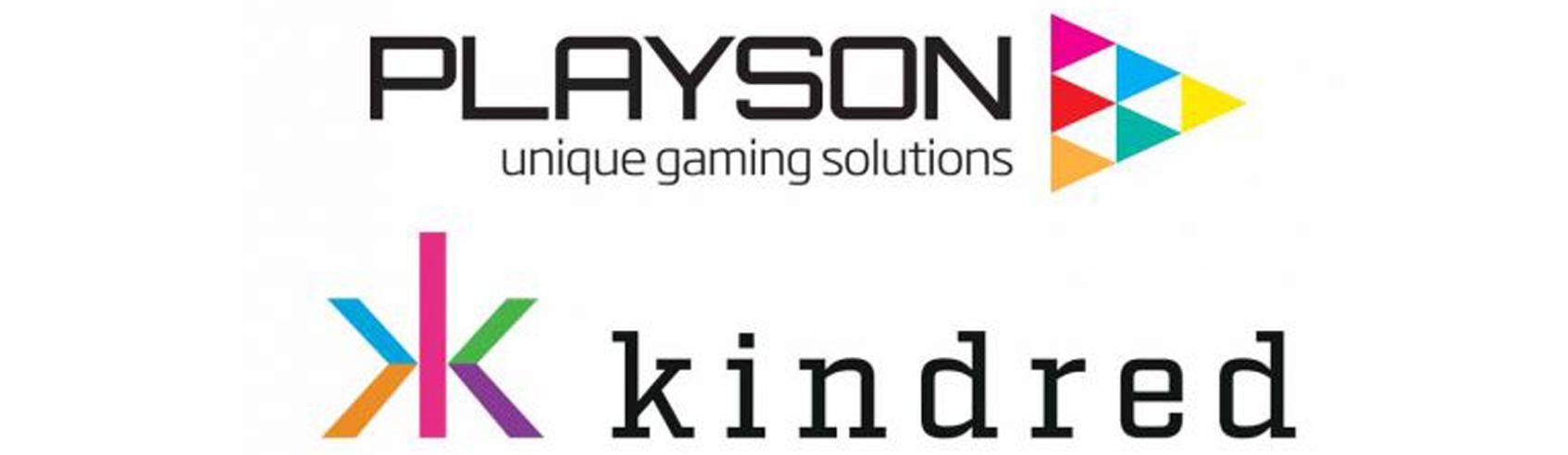 Kindred GroupのブランドでPlaysonのゲームが利用できるように