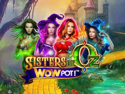 Sisters of Oz WowPot カジノスロットレビュー